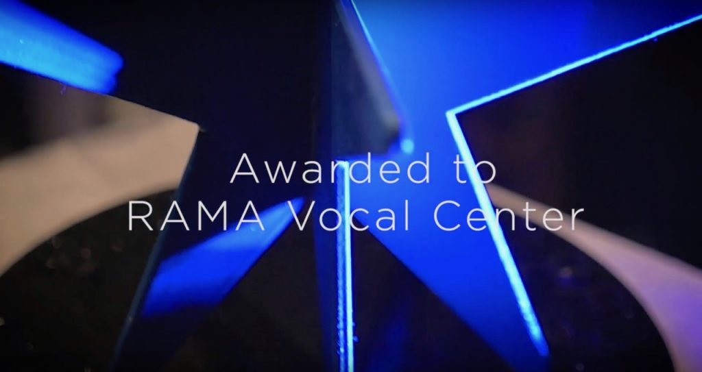 EV-AWARD 2018 to RAMA Vocal Center Aalborg